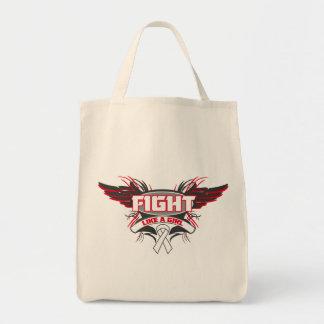 Lucha del cáncer de pulmón como un chica Wings.png Bolsas