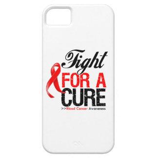 Lucha del cáncer de sangre para una curación iPhone 5 carcasas