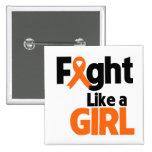 Lucha del cáncer del riñón como un chica 2 pins