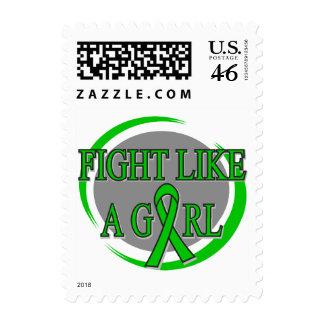 Lucha del cáncer del riñón como una circular del c