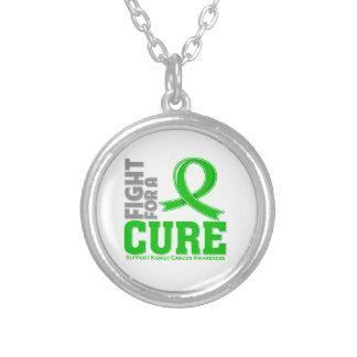 Lucha del cáncer del riñón para una curación colgante redondo