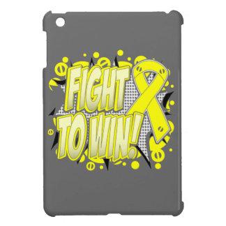 Lucha del cáncer del sarcoma a ganar iPad mini cobertura