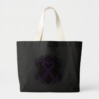 Lucha del cáncer pancreático como una armadura del bolsa de mano