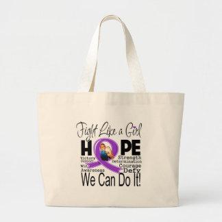 Lucha del cáncer pancreático podemos hacerla bolsas lienzo