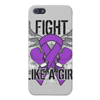 Lucha del cáncer pancreático ultra como un chica iPhone 5 funda
