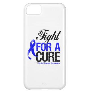 Lucha del cáncer rectal para una curación