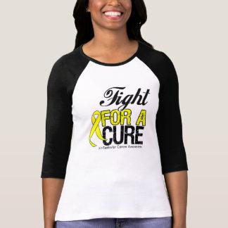 Lucha del cáncer testicular para una curación camisetas