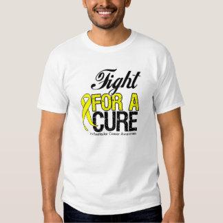 Lucha del cáncer testicular para una curación poleras