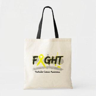 LUCHA del cáncer testicular que apoya mi causa Bolsa