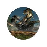 Lucha del Carnotaurus Reloj