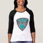 Lucha del desgaste del cáncer de tiroides como un  camisetas