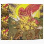 Lucha del dragón - cinco de los posters de Tarot d
