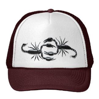 Lucha del escorpión gorras de camionero