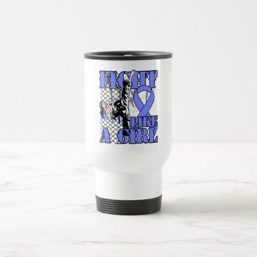 Lucha del esófago del cáncer como un retroceso del tazas de café