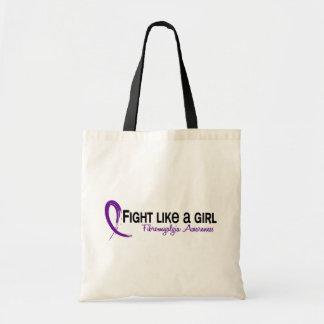 Lucha del Fibromyalgia como un chica 6 3 Bolsas De Mano