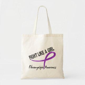 Lucha del Fibromyalgia como un chica 7 3 Bolsas De Mano
