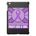Lucha del Fibromyalgia como una bandera del chica