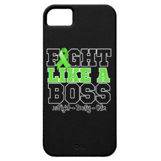 Lucha del linfoma de Non-Hodgkins como Boss iPhone 5 Case-Mate Protectores