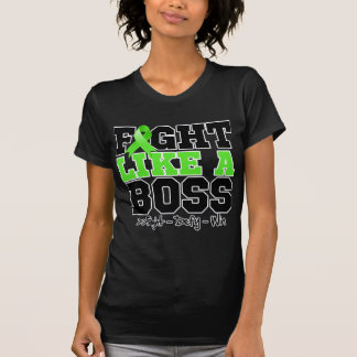 Lucha del linfoma de Non-Hodgkins como Boss Camisetas