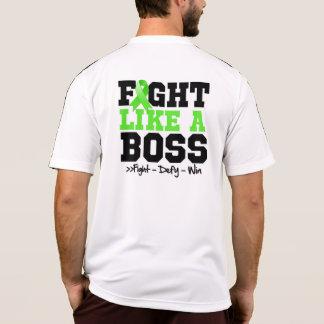 Lucha del linfoma de Non-Hodgkins como Boss Camiseta