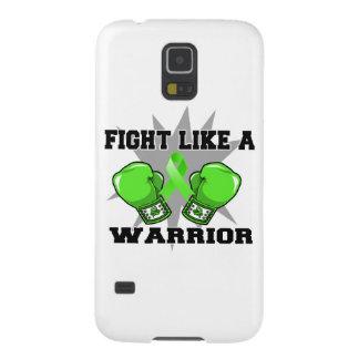 Lucha del linfoma de Non-Hodgkins como un guerrero Fundas Para Galaxy S5