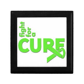 Lucha del linfoma de Non-Hodgkins para una curació Cajas De Recuerdo