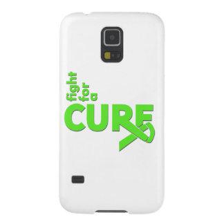 Lucha del linfoma de Non-Hodgkins para una Carcasas De Galaxy S5