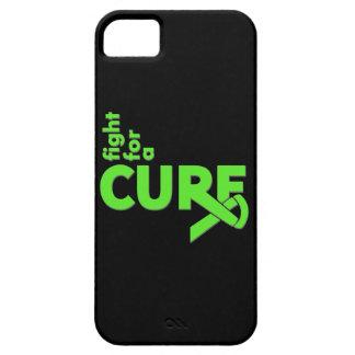 Lucha del linfoma de Non-Hodgkins para una iPhone 5 Carcasa