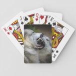 Lucha del lobo barajas de cartas