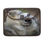 Lucha del lobo funda para macbook pro