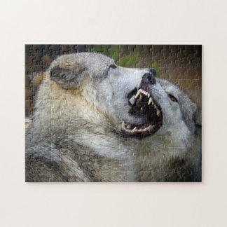 Lucha del lobo puzzle