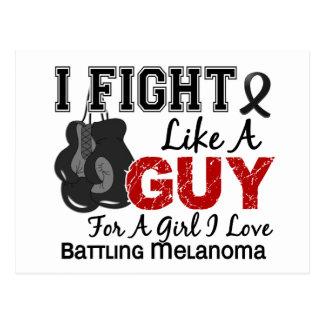 Lucha del melanoma como un individuo 15 tarjetas postales