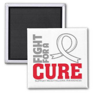 Lucha del mesotelioma para una curación imán cuadrado