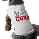 Lucha del mesotelioma para una curación camisa de perrito