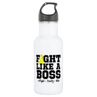 Lucha del osteosarcoma como Boss