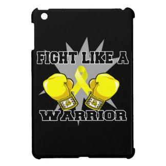 Lucha del osteosarcoma como un guerrero iPad mini cobertura