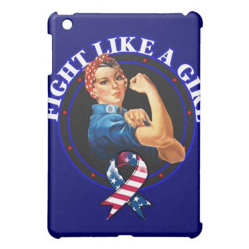 Lucha del patriotismo como un chica Rosie el remac