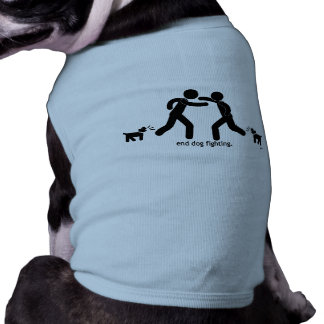 """lucha del perro del extremo. "" camiseta sin mangas para perro"