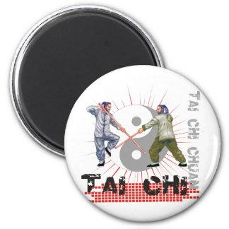 Lucha del personal de la ji del Tai Imán Redondo 5 Cm