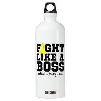 Lucha del sarcoma de Ewing como Boss