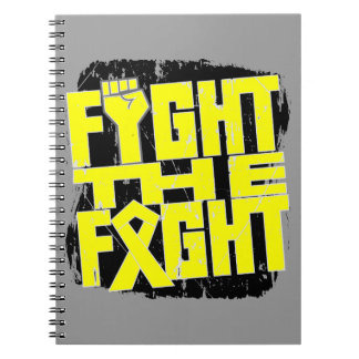 Lucha del sarcoma de Ewing la lucha Libreta
