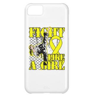 Lucha del sarcoma de Ewings como un retroceso del  Funda Para iPhone 5C