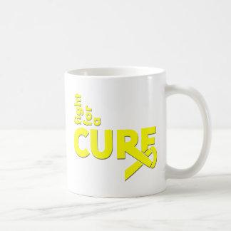 Lucha del sarcoma de Ewings para una curación Tazas De Café
