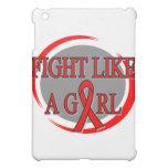 Lucha del SIDA como una circular del chica