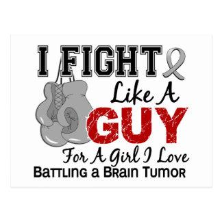 Lucha del tumor cerebral como un individuo 15 postales