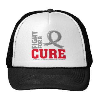 Lucha del tumor cerebral para una curación gorra