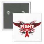 Lucha del VIH del SIDA como un chica Wings.png Pins