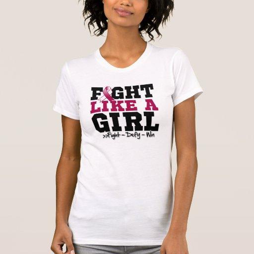 Lucha deportiva del cáncer de cabeza y cuello como camiseta