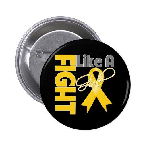 Lucha elegante del cáncer de Neuroblastoma como un Pin