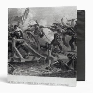 Lucha en un puente durante el retratamiento